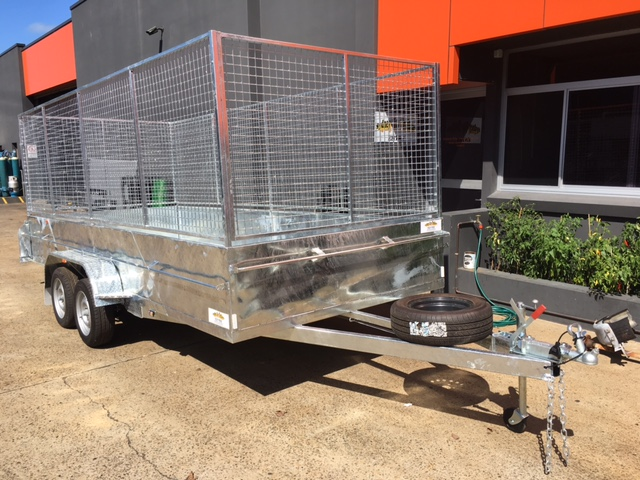 how to make a trailer cage at home