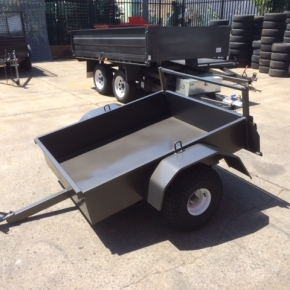 Quad Bikefarm Trailers