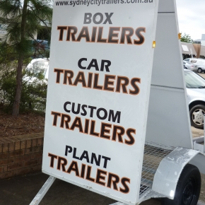 Sign Advertising Trailers